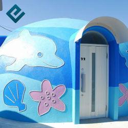 EPS Graphene prefabricados Modular House Home/ Mobile Prefab Home/ Casa de Teto