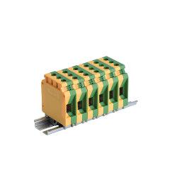 Marcação e RoHS Certified 15,2*62*50.3mm Bloco do Terminal de massa 10-35 mm2 Blocos Conectores Elétricos