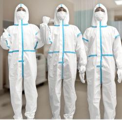 Emf van het Dagelijks werk van Ce de Bescherming van de Veiligheid van het Virus beschermt Kleding van het Overtrek van de Stof van het Kostuum van het Overtrek de Beschikbare Beschermende