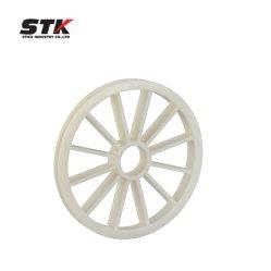 Piezas de moldeo por inyección de plástico modelo de la rueda de plástico
