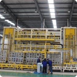 Mehrplatzaufsatz-Typ Tür-schäumende Maschine für Kühlraum