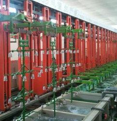 Vertikale, die automatische galvanisierenmaschine für Nickel-Chrom-Überzug auf Plastik- oder Metall/Rack Typ Überzug-Maschine anhebt