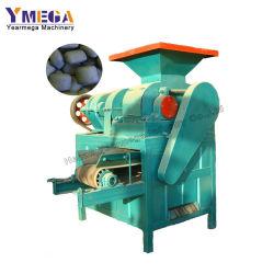 Alta qualidade de trabalho contínuo de rolete duplo Pressione a máquina de carvão vegetal a produção de esferas