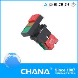 Xb2 (Double tête de l'interrupteur à bouton-poussoir Bouton avec la lampe)