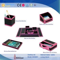 革文房具の一定のオフィスのデスクトップ(2008年)