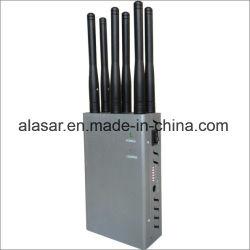 6CH手持ち型の携帯用移動式細胞2g 3G 4G Lte GSM CDMAの携帯電話のWiFi Bluetooth GPSのシグナルのブロッカー、妨害機