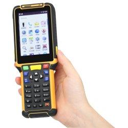 Android mão GSM 4G Scanner de código de barras do PDA Warehouse Ts-P8