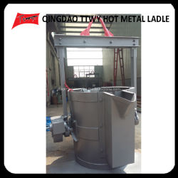 كهربائيّة حارّ معدن فولاذ مغرفة إنتقال [مولتن] حديد برميل لأنّ مصهرة آلة