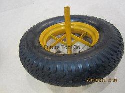 350-8/400-8 Borracha de pneu/roda Penumatic para trolley/ Volante Barrow