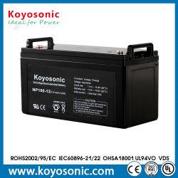 12V 120Ah AGM SLA Rechargeable Batterie plomb-acide