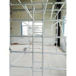 Escalier d'échafaudages aluminium/acier escaliers de l'échelle