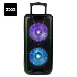 Bolsa com amplificador ativo DJ portátil bateria recarregável USB Hi-fi sem fios Karaoke armário de altifalante colunas de cinema em casa de guitarra mixer de áudio do sistema de coluna linear