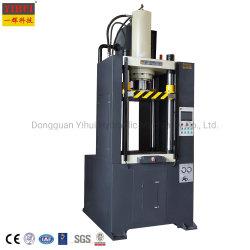 Processus de boîtier de filtre à huile hydraulique à double effet machine de formage d'étirement