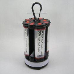 Lampe torche 4 LED détachable Camping lumière de l'unité combo