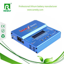 RC Lithium NiMH NiCd Battery를 위한 Imaxb6AC Digital LCD 80W Charger