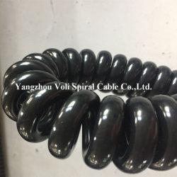 Commerce de gros des ventes directes d'usine de cuivre isolé PVC Câble d'alimentation Câble en spirale