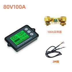 Bw-Tk15 80V350LCD Universal Alquiler de plomo ácido de batería de litio Indicador de capacidad de controlar la tensión medidor Tester9