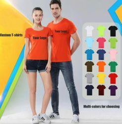 カスタムTシャツ、100%Cotton人のTシャツ、ティーワイシャツ、印刷のTシャツ、ポロのTシャツ、人、速い出荷の明白なティーワイシャツのためのワイシャツ