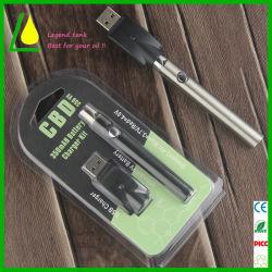 Mt3 Vaporisateur Vape Batterie rechargeable de plumes de la CDB avec 350/650/900/1100mAh
