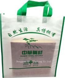 I pp personalizzati Nessun-Tessuti hanno stampato i sacchetti di acquisto riutilizzabili promozionali