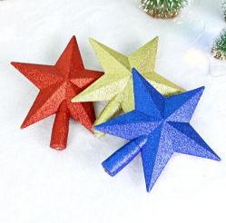 Poudre en plastique Poignée de commande des accessoires de décoration des arbres de Noël Top Star