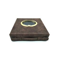 新しいデザイン方法PUの革ワインの包装のワインボックス