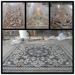 Полированный/Отточен мраморные плитки мозаики новой модели интерьера