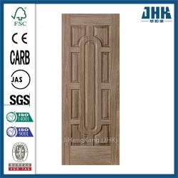 Preto natural sólidos de madeira de nogueira Venner HDF Pele de porta (JHK-012)