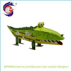 Novidade Bonitinha Creative Office Home Desktop em forma de crocodilo Flower Pot Toy