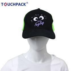 Оптовая торговля Custom логотипом тканого Patch 5 панели 6 панели бейсбола винты с Red Hat