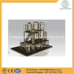 Usine de distillation de gazole en caoutchouc plastique recyclage d'huile