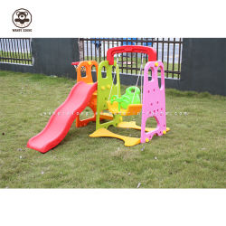 世帯の組合せのスライドおよび振動おもちゃの屋内子供のプラスチックスライドの演劇は就学前教育のためにセットした