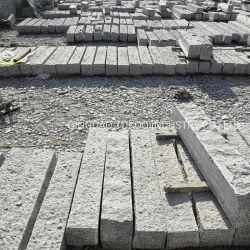Dalian chinois gris granit naturel de freiner la pierre