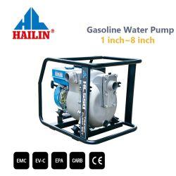 Удаление сточных вод 2 дюйма (50 мм) с бензиновым двигателем мусор/грязной воды насос (HLS50)