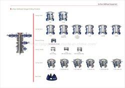 Le carter tête / carter de la tête de tubes / tiroir / carter de la tête Hanger / Joints Carter etc norme API Pièces de tête de puits