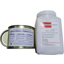 Tabletas de metronidazol 250 mg de BP de la medicina occidental
