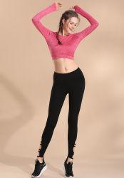 De nieuwe Toevallige In te ademen Reeks van de Sportkleding van Atheletic van de Yoga van de Koker van de Geschiktheid Lange