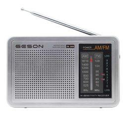 Am/FM portable Dual Band No. 1 pile sèche de la radio avec alimentation électrique CC