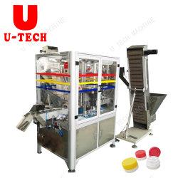 Automatische Flaschenkapseln Montage und Schutzkappen-Füllmaterial-Maschine