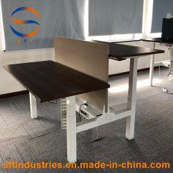 Espalda regulable en altura electrónico sentarse el bastidor de mesa de soporte