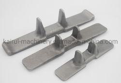 Trator de esteiras de borracha dos dentes de ferro forjado para a engenharia/Máquinas Agrícolas