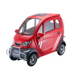3 Sitzlangsame 4 Rad-Mobilitäts-elektrisches Miniauto mit Lithium-Batterie