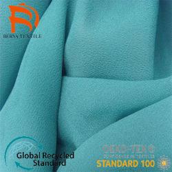 Tecido reciclado à prova de tecidos de poliéster/náilon/Spandex Imprimir Piscina Têxteis casaco para lubrificar mecanismos Jacquard para revestimento uniforme Garment