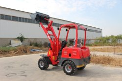 Haiqin Brand Electric Mini Loader Bulldozer (HQ906E) met 4 wielen Rijden
