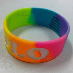 Eco Friednly Bracelet en caoutchouc personnalisé des articles divers produits à base de silicone