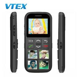 Hot Sale grootvader Verjaardagen Gift 1.77′ ′ Senior Loud Voice Telefoon bellen met een mobiele telefoon met een docking-kaart