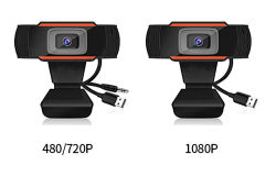 Amazon X1 480p 720P 1080P Webcams caméra Web HD Camera Caméra Camputer