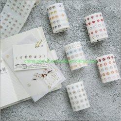 Punto simple cinta de enmascarar de papel de impresión