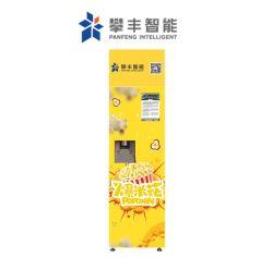 시네마에서 자동 24시간 스낵 머신 팝콘 자판기 카드 리더 코인 카운터 현금 보관소 포함