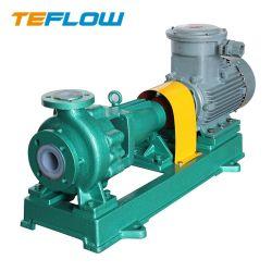 Ihf doublure FEP Biogaz transmettre phase unique de produits chimiques pour l'aniline de sulfate de pompe centrifuge